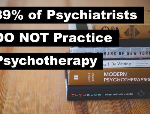 Less Than 11% of Austin Psychiatrists Practice Psychotherapy
